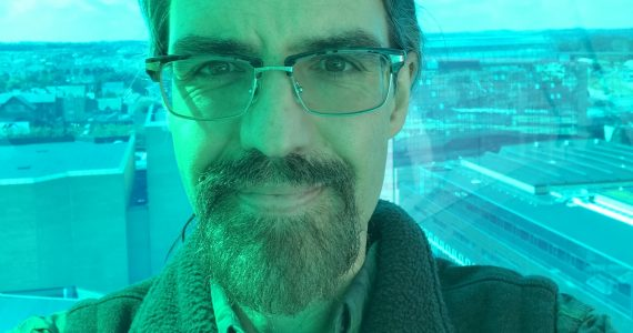 Selfie of Michael Stephens