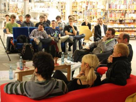 Gaming Roadshow Panel Discussion (from http://goo.gl/gQgFB) at the Mannheim Library