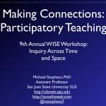 WISE Workshop at ALISE: Travel Woes & Slides