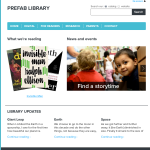 Announcing PREFAB – Library Website Service