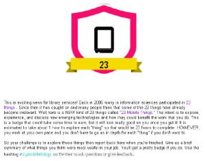 Badge 23