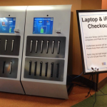Laptop & iPad Checkout Machine at SJCPL