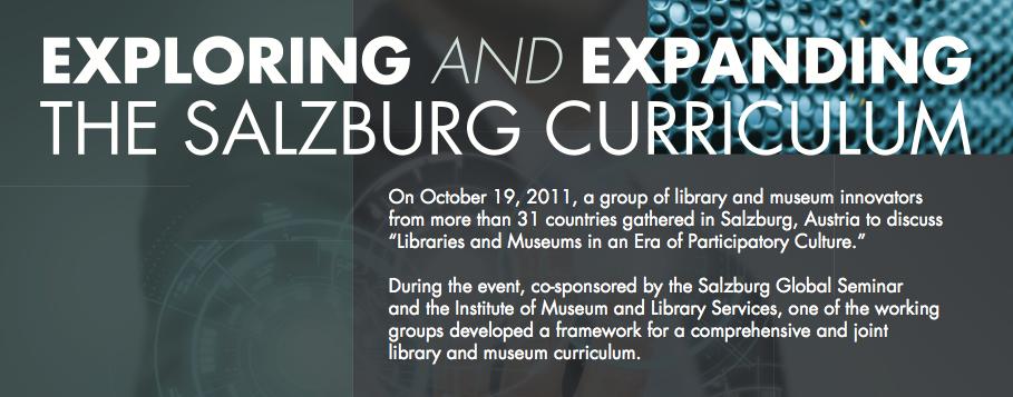 Exploring & Expanding the Salzburg Curriculum Infosheet