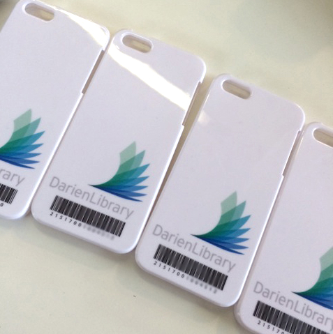 Library Barcode iPhone Cases