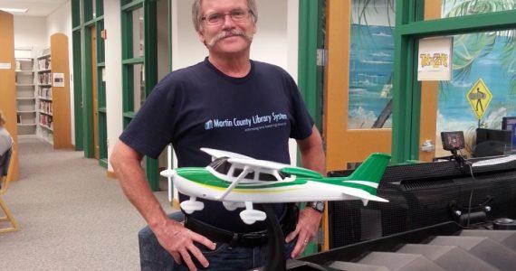 Pilot-in-residence George Seaman